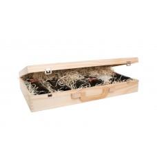 6er Holzbox