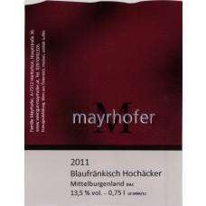 Blaufränkisch Hochäcker 2013