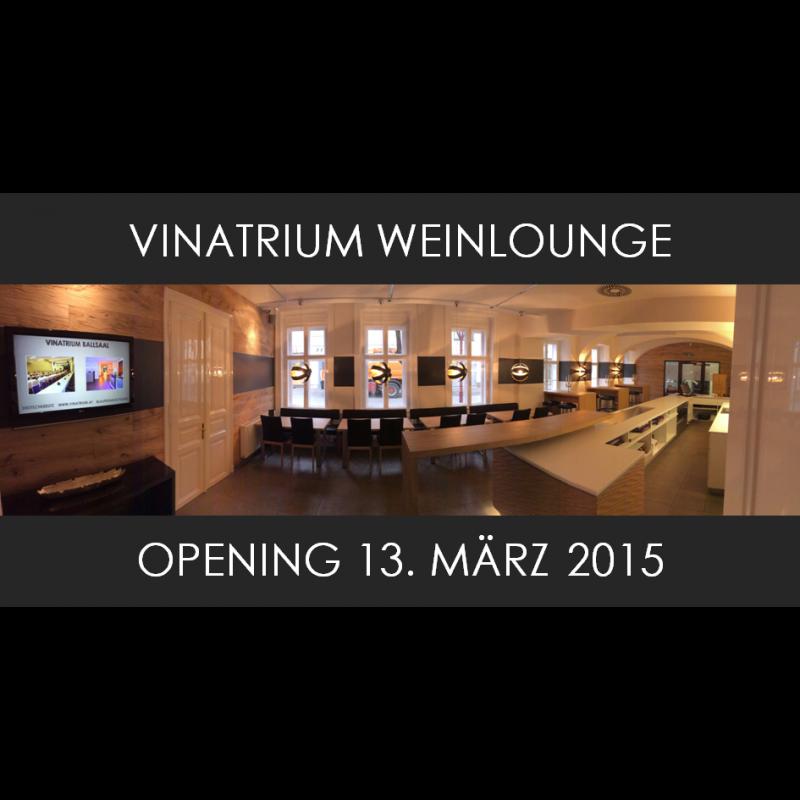Opening Weinlounge